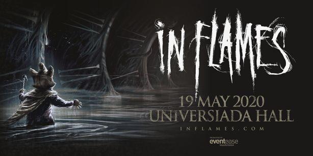 Концерт на In Flames в София