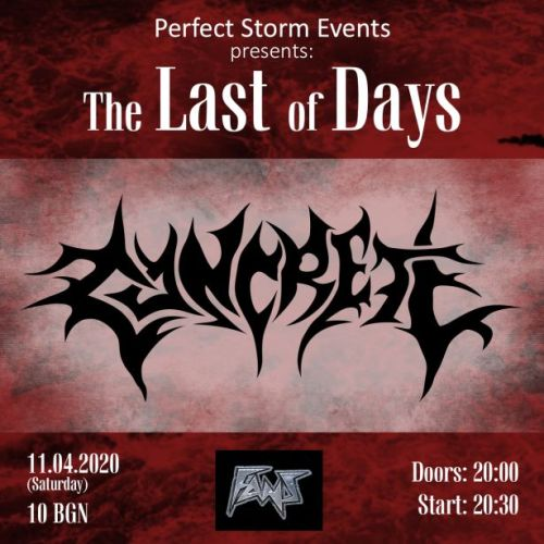 Concrete идват на The Last Of Days vol. 2