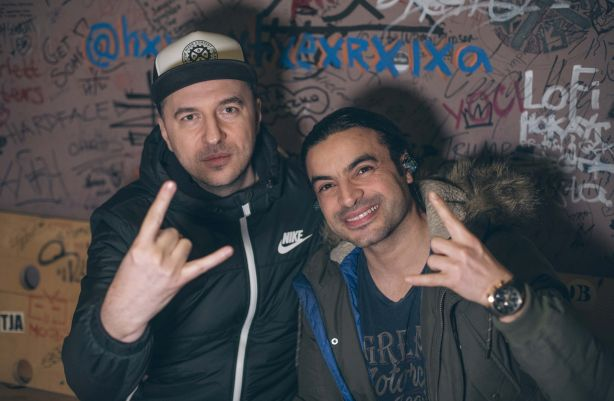 Васко Катинчаров и Zaher Zorgati - Myrath