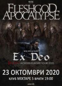 FLESHGOD APOCALYPSE и EX DEO в София на 23 октомври