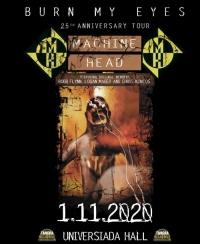 Концертът на MACHINE HEAD в София на 1 ноември се отменя