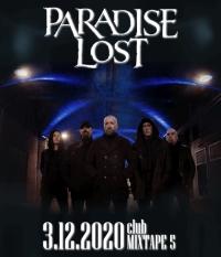 PARADISE LOST в София на 3 декември