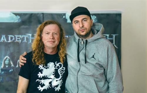 Васко Катинчаров и Dave Mustaine - Megadeth