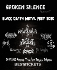 Купи билет за Broken Silence Black Death Metal Fest 2020