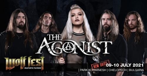 The Agonist на Wolf Fest – Вълчата пътека