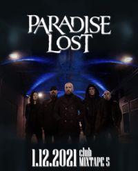 PARADISE LOST в София на 1 декември 2021 г.