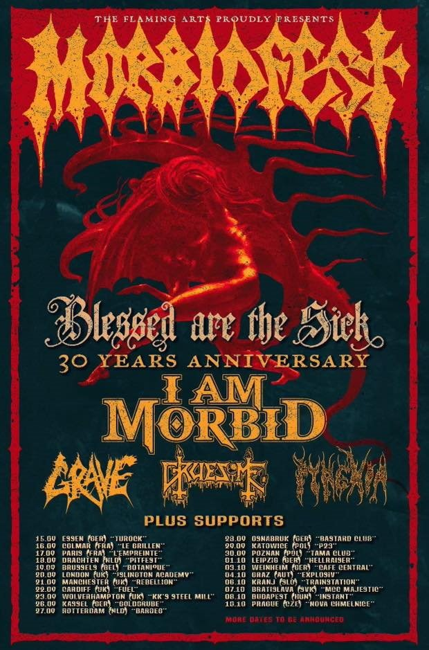 I Am Morbid European Tour 2021