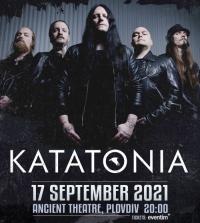 Концерт на Katatonia в Пловдив на 17 септември
