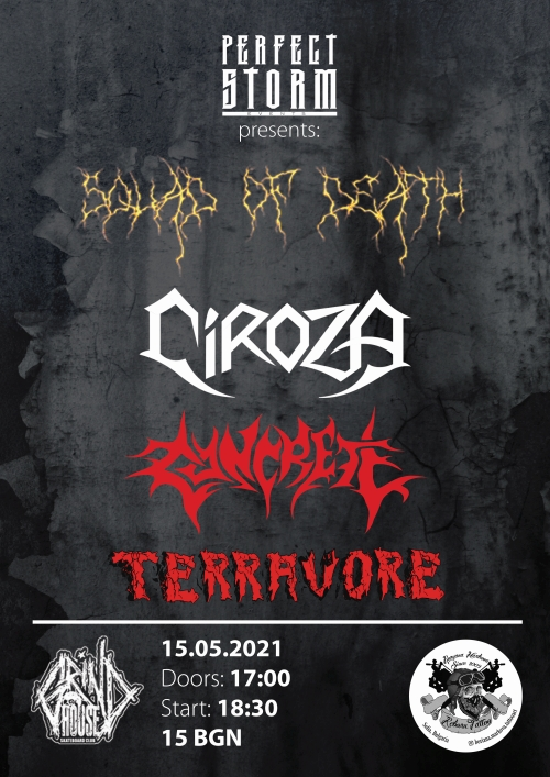 news_A Thrash And Death Metal Evening poster