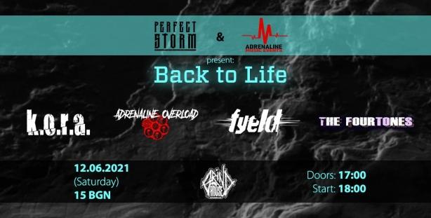 Back to Life Metal Fest