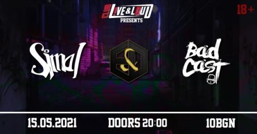 Концерт на Badcast, Simai и Embers & Dust