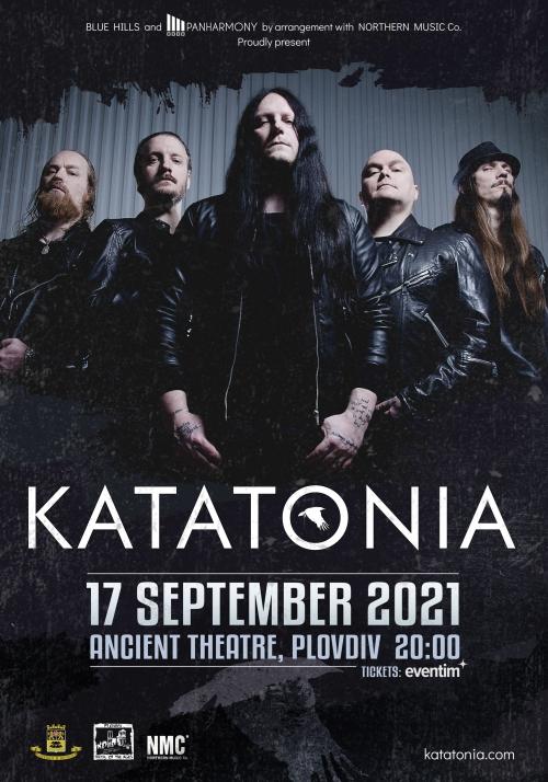 Концерт на Katatonia в Пловдив