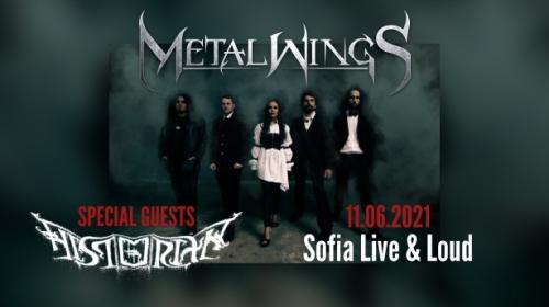 Концерт на Metalwings и Historian
