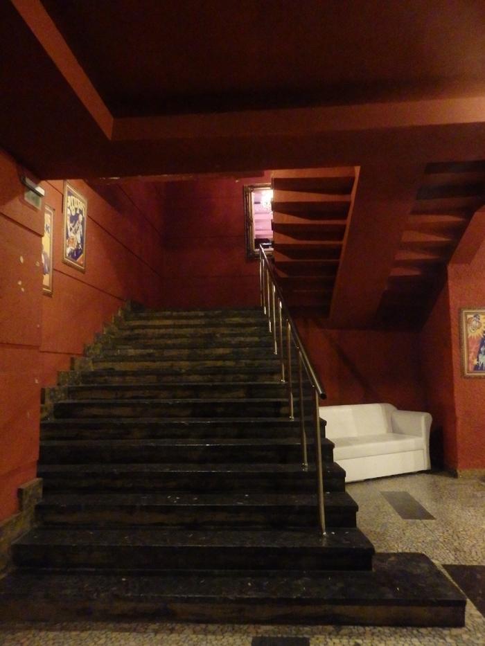 Черните стълби към преизподнята