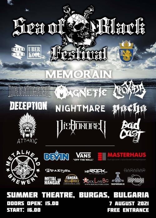 Sea Of Black Festival 2021