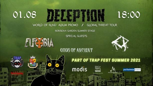 Deception album promo