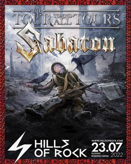 Sabaton са хедлайнери на фестивала Hills Of Rock 2022