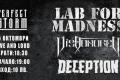 Концерт на Lab For Madness, Dishonored и Deception
