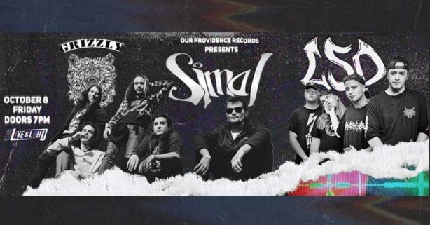 Концерт на SMAI, LSD и GRIZZLY